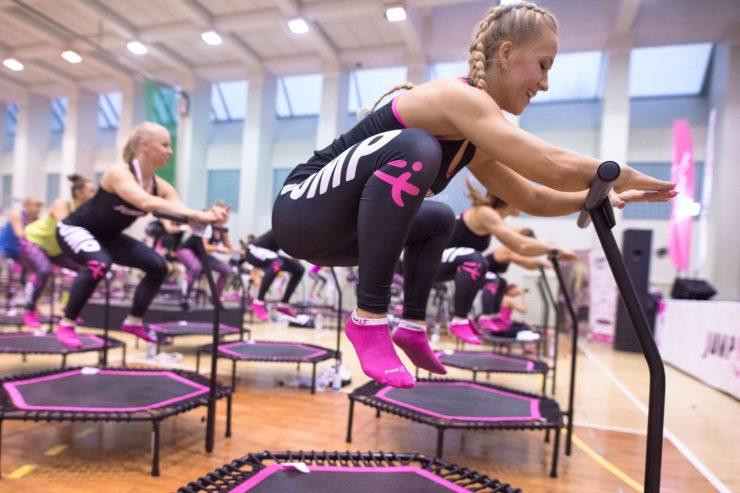 JUMPit! profesionální gymnastická trampolína